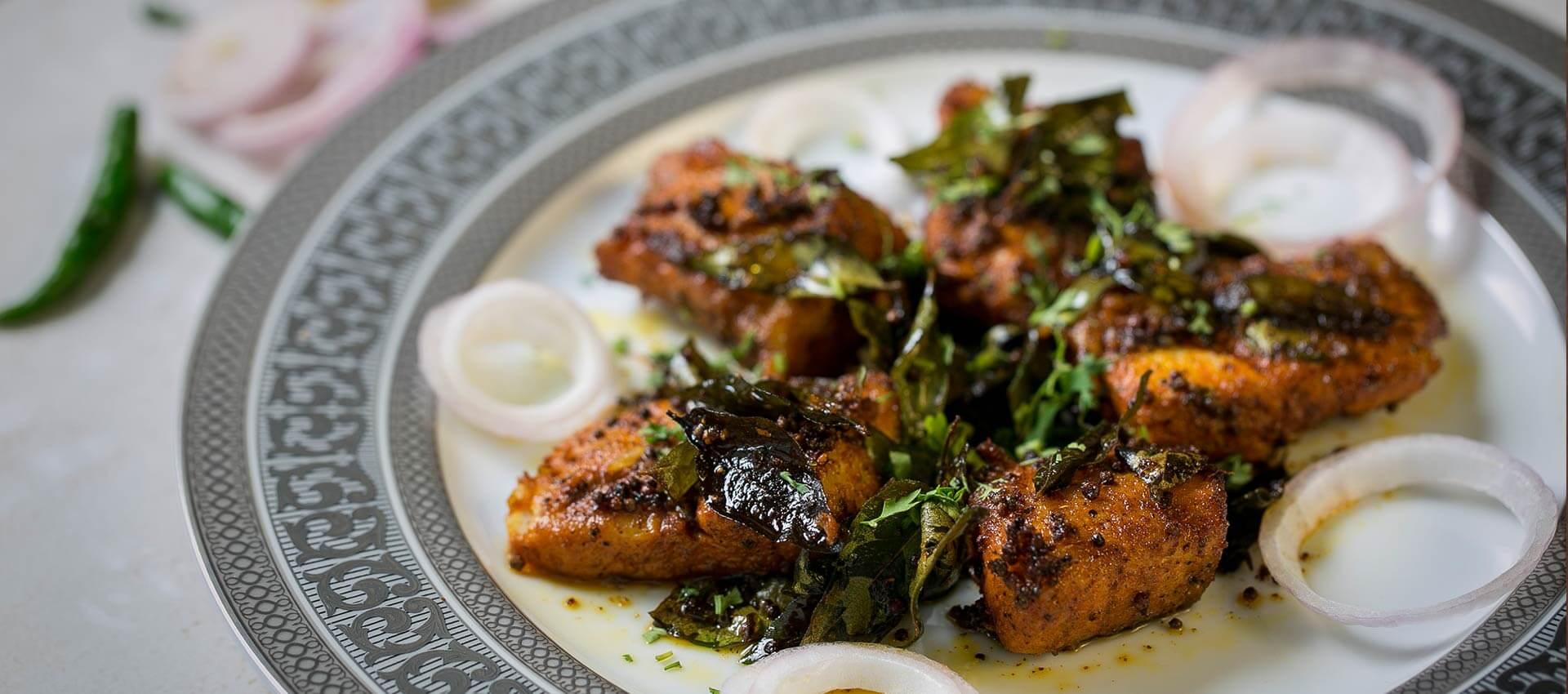 paneer dish at TFF